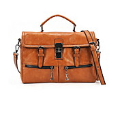 Charming PU Casual/Office/Shopping Shoulder Handbag(More Colors)