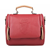 Charming PU Office/Shopping Shoulder Handbag More Colors