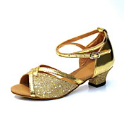 Stylish Kid's / Women's Leatherette Ankle Strap Latin / Ballroom Dance Shoes (More Colors)
