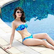 Glam Blue Push-up Bikini Set