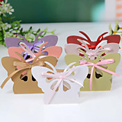 Butterfly Favor Box With Cut–outs (Set of 12)