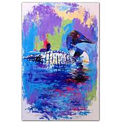 Printed Art Animal Ducks by Richard Wallich