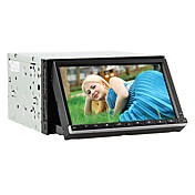 7-inch 2 Din TFT Screen In-Dash Car DVD Player With Bluetooth,Navigation-Read GPS,iPod-Input,RDS
