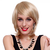 Capless High Quality Synthetic Short Straight Blonde Hair Wigs