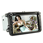 8-inch 2 Din TFT Screen In-Dash Car DVD Player For Volkswagen With Bluetooth,Navigation-Read GPS,iPod-Input,RDS,TV