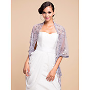 Wonderful Sequined Voile Wedding/Evening Shawl (More Colors)