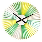 Vienna's Spring Style Plastic Wall Clock