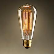 60W E27 Retro Industry Style Incandescent Bulb