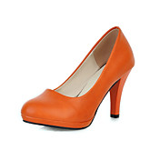 Fabulous Leatherette Stiletto Heel Pumps Casual Shoes(More Colors)