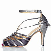 Customized Women's Leatherette Arch Strap Latin / Ballroom Dance Shoes