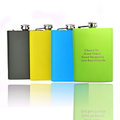 Personalized Painted 8-oz Flask (More Colors)