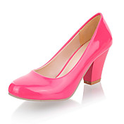 Patent Leather Chunky Heel Pumps Party / Evening Shoes (More Colors)