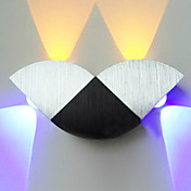 4W Modern Led Wall Light with Scattering 4 Lights Abstract Geometry Design