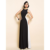 TS White And Black Maxi Dress
