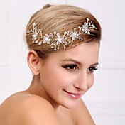 Gorgeous Crystal and Pearl Wedding/Party Headpiece(1 Piece Set)