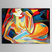 Hand Painted Oil Painting People Nude with Stretched Frame 1306-LS0288