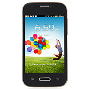 MINI S4 I9500 - 4 Inch Touch Screen Androud 4.1 Cell Phone(WIFI,1GHz,Dual Camera,Dual SIMs)