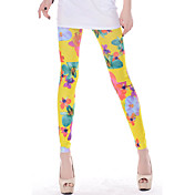 Sweet Floral Legging in Yellow