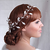 Luxurious Alloy DIY Hair Combs with Rhinestone Wedding Bridal Headpieces