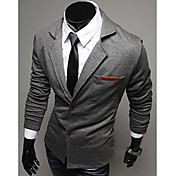 Men'S Knit Lapel Two Button Suit