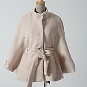 Women's Fashion Cape Woolen Coat