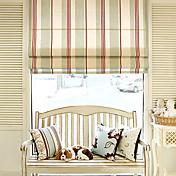 Classic Stripe Roman Shade