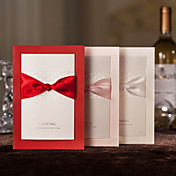 Personalized Wedding Invitation With Ribbon Sash - Set of 50(More Colors)