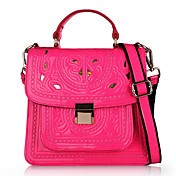 LuoLanBag Baroque Style Cut Out Cute Pink Tote/Messager Bag