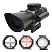 Tactical 4X32 Riflescope with Red Laser Sight for Hunting