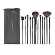 12Pcs Black High-grade Professional Makeup Brush Set