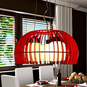 Modern Creative 3 Light Pendant In Pumpkin Shape