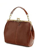 Vintage Leather Classic All-match Tote