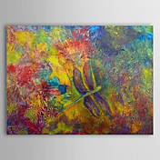 Hand Painted Oil Painting Abstract with Stretched Frame 1308-AB0564