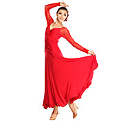 Ballroom Dancewear Viscose Modern Dance Dress for Ladies(More Colors)