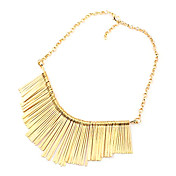Kangxi to the same mix tassel necklace European and American short necklace N241