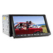 2 Din 7-inch TFT Screen In-Dash Car DVD Player With Bluetooth,RDS,iPod-Input,TV