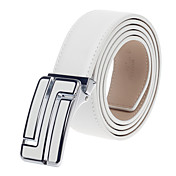 Men's Fashion Leather Buckle Belt