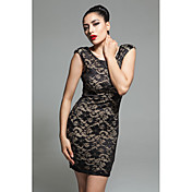 SENORI Women's Sexy Lace Bodycon Dress