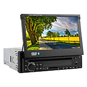 7-inch 1 Din TFT Screen In-Dash Car DVD Player With Bluetooth,iPod-Input,RDS