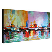 Hand Painted Oil Painting Abstract Landscape 1303-AB0413