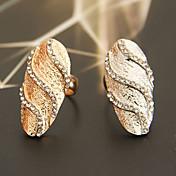 Women's Ripple Shaped Ring