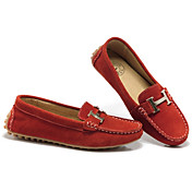 GUCIHEAVEN Women's Orange Fashion Casual Bean Shape Shoes