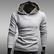 Men's hoodie fleece lined casual coat