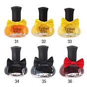 1PCS Bowknot Bottle Nail Polish No.31-36(12ML,Assorted Color)