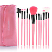12PCS Pink Professional Brush Set