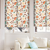 Country Style Floral Roller Shade