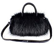 Stylish Faux Fur Top Handal Casual Handbags(More Colors)