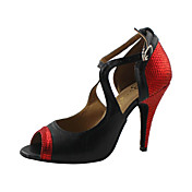 Gorgeous Customized Women's Leatherette Upper Dance Shoes(More Colors)