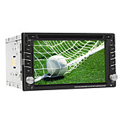 6.2-inch 2 Din TFT Screen In-Dash Car DVD Player Support GPS, iPod, BT, Touch Screen