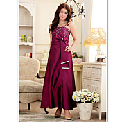 JK2 Women's  Fashion Lace Diamond Fit Long Dress